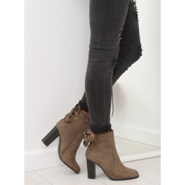 Ankle boots brown 1331 Khaki 1