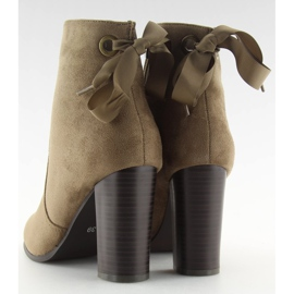 Ankle boots brown 1331 Khaki 3