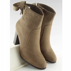 Ankle boots brown 1331 Khaki 2