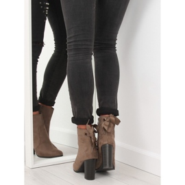 Ankle boots brown 1331 Khaki 4