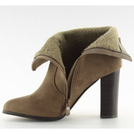 Ankle boots brown 1331 Khaki 5