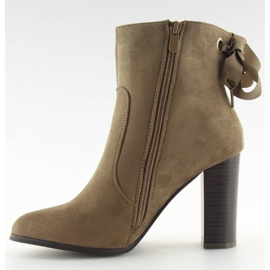 Ankle boots brown 1331 Khaki 6