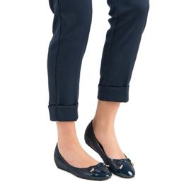 Fashionable ballerinas blue 6