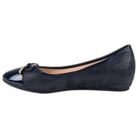 Fashionable ballerinas blue 4