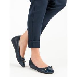 Fashionable ballerinas blue 1