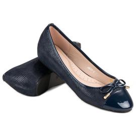 Fashionable ballerinas blue 5