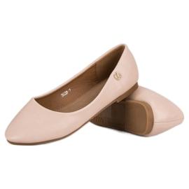 Classic ballerinas brown 4