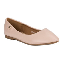 Classic ballerinas brown 6