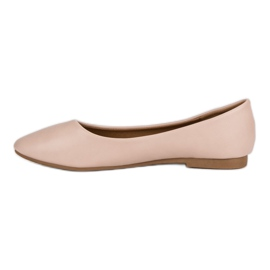 Classic ballerinas brown 1
