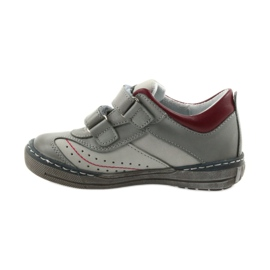Gray shoes children's boots with velcro Ren But 3047 red multicolored grey 2