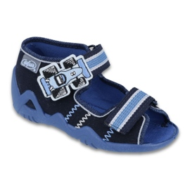 Befado children's shoes 250P065 navy 1