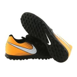 Football shoes Nike TiempoX Rio IV TF black, yellow black 4