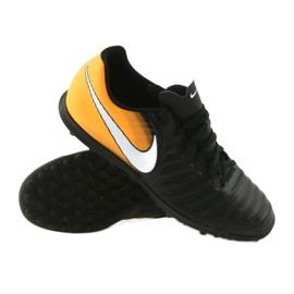 Football shoes Nike TiempoX Rio IV TF black, yellow black 3