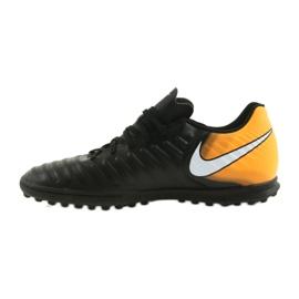 Football shoes Nike TiempoX Rio IV TF black, yellow black 2