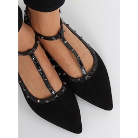 Black ballerinas 127-13 Black 4