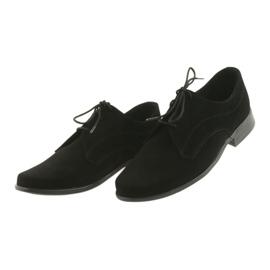 Miko shoes children suede communion shoes black 4