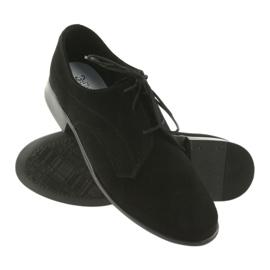 Miko shoes children suede communion shoes black 3