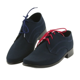 Miko shoes children suede communion shoes navy 4