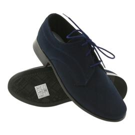 Miko shoes children suede communion shoes navy 3