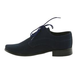Miko shoes children suede communion shoes navy 2