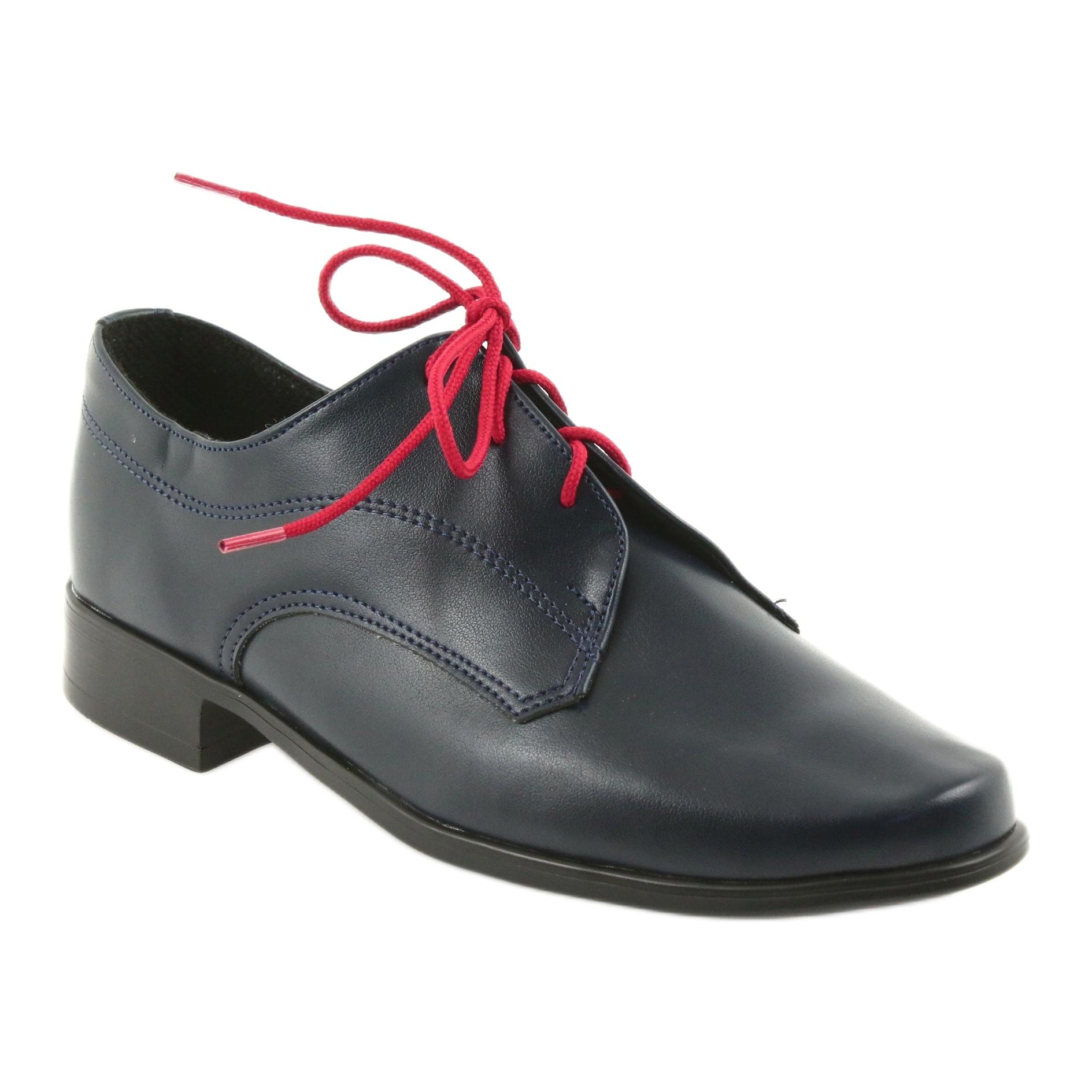 Miko Schuhe Kinder Wildleder Kommunion Schuhe marine