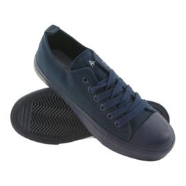 American Club navy blue sneakers LH05 5