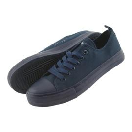 American Club navy blue sneakers LH05 4
