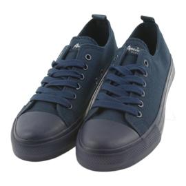 American Club navy blue sneakers LH05 3