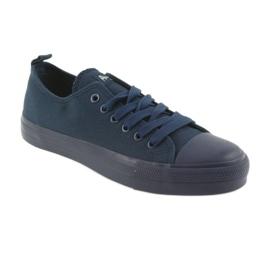 American Club navy blue sneakers LH05 1