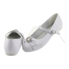 Ballet pumps Communion zircons American Club 12/19 white 4