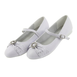 Ballet pumps Communion zircons American Club 12/19 white 3