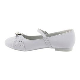 Ballet pumps Communion zircons American Club 12/19 white 1
