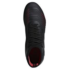 Football boots adidas Predator 19.1 FG Jr D97997 black 1