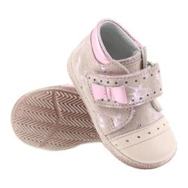 Velcro booties Baby shoes Ren But 1535 pink flamingos 3