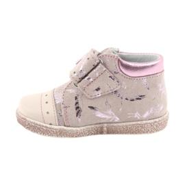 Velcro booties Baby shoes Ren But 1535 pink flamingos 2