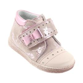 Velcro booties Baby shoes Ren But 1535 pink flamingos 1