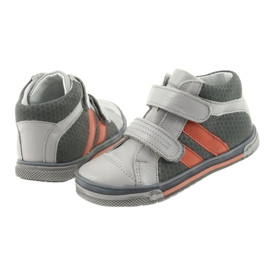 Boote shoes Velcro boots Ren But 3225 gray / orange multicolored navy 4