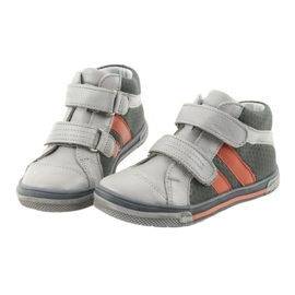 Boote shoes Velcro boots Ren But 3225 gray / orange multicolored navy 3