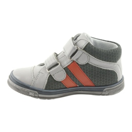 Boote shoes Velcro boots Ren But 3225 gray / orange multicolored navy 2