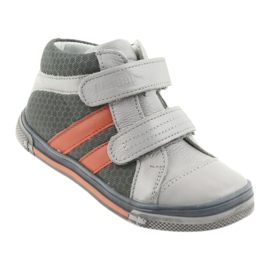 Boote shoes Velcro boots Ren But 3225 gray / orange multicolored navy 1