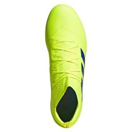 Football shoes adidas Nemeziz 18.1 FG M BB9426 yellow 2