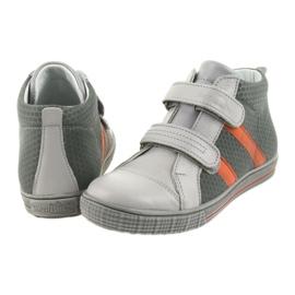 Ren But Boote shoes children's Velcro boots Ren 4275 gray / orange grey 5