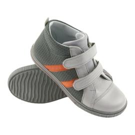 Ren But Boote shoes children's Velcro boots Ren 4275 gray / orange grey 3