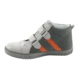 Ren But Boote shoes children's Velcro boots Ren 4275 gray / orange grey 2