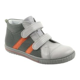 Ren But Boote shoes children's Velcro boots Ren 4275 gray / orange grey 1