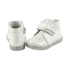Velcro-booties children's shoes Ren But 1535 bow silver 5