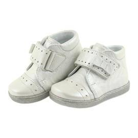 Velcro-booties children's shoes Ren But 1535 bow silver 4