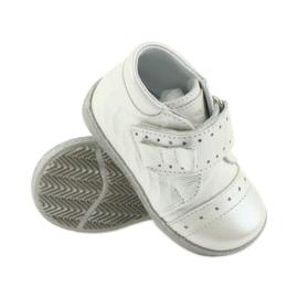 Velcro-booties children's shoes Ren But 1535 bow silver 3