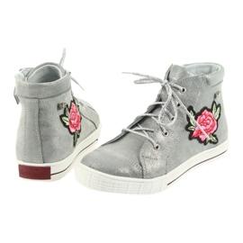 Shoes shoe girls silver Ren But 4279 5