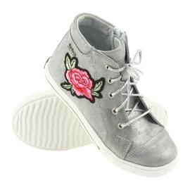 Shoes shoe girls silver Ren But 4279 3